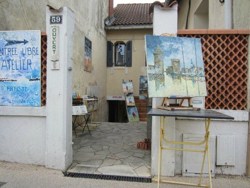 cour maison atelier