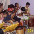 Los niños cantan los villancicos Fresia