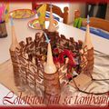 Gâteau chateau fort