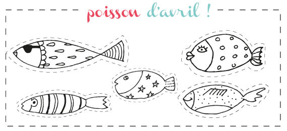 Poisson d 39 avril mcpb - Dessin de poisson d avril ...
