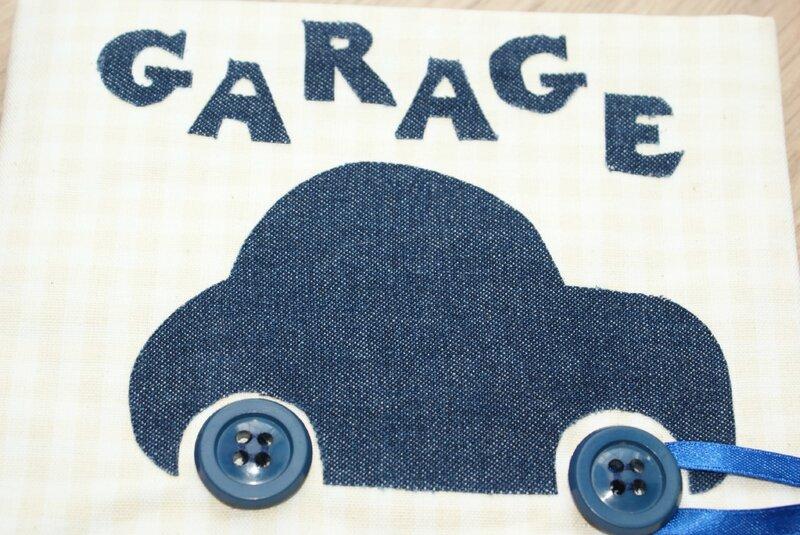 garage gros plan