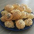 Crackers emmental et pavot