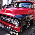 Béthune rétro 2019 - pickup ford f-100 1956