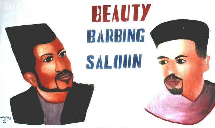 TERO Salon de beauté 60 x 100