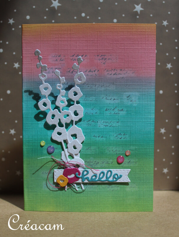 CSA Wonderful Summer Grande Muraille Cardlift carte 1