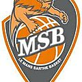 Le msb en 1/2 finale des play off de basket