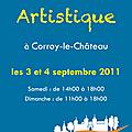 Balade artistique 2011