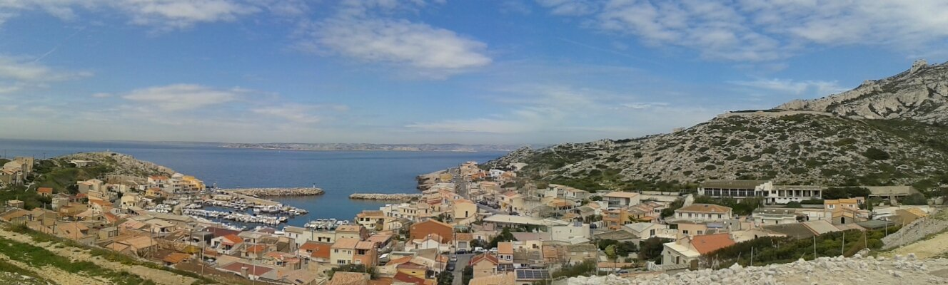Randonnée à Marseille Côté Pointe Rouge