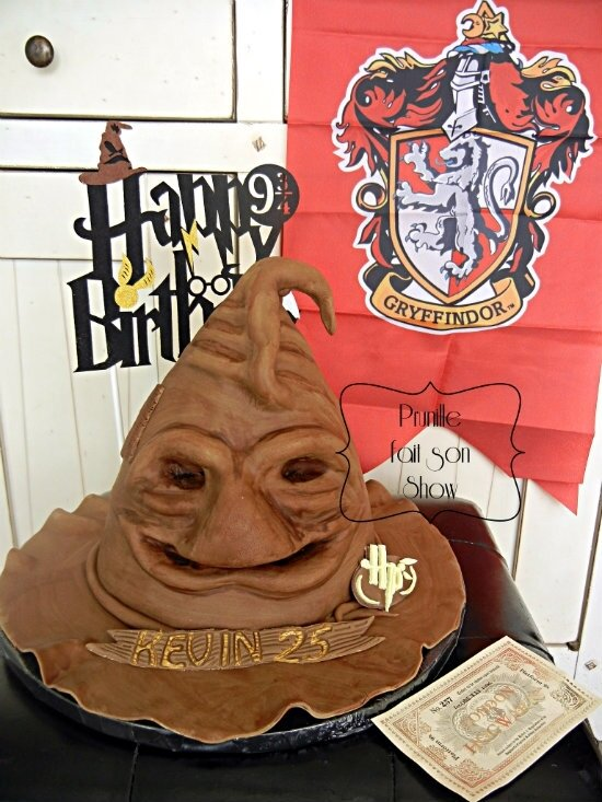 gateau choixpeau magique harry potter prunillefee 1