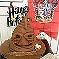Gateau choixpeau magique de harry potter .