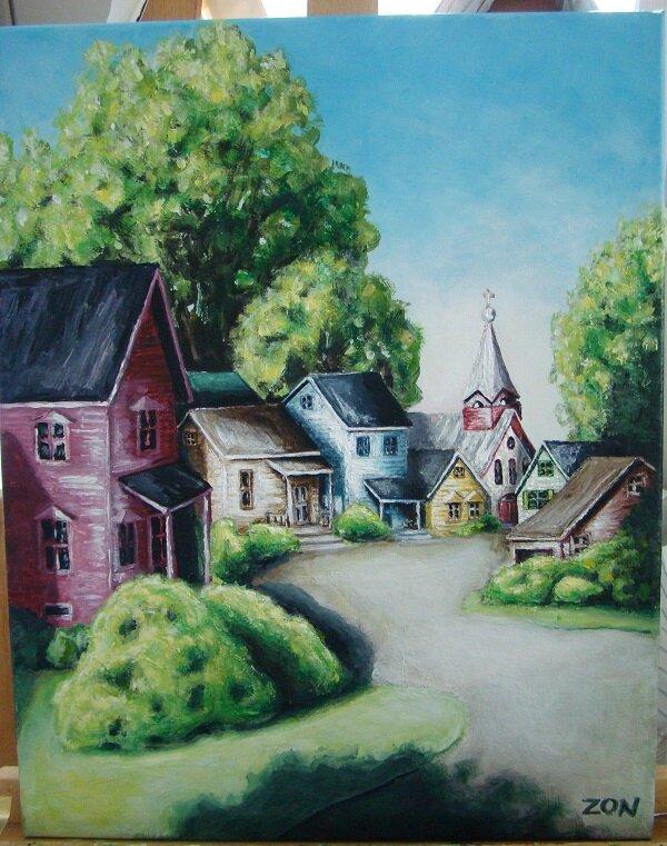 village charlevoix inventé