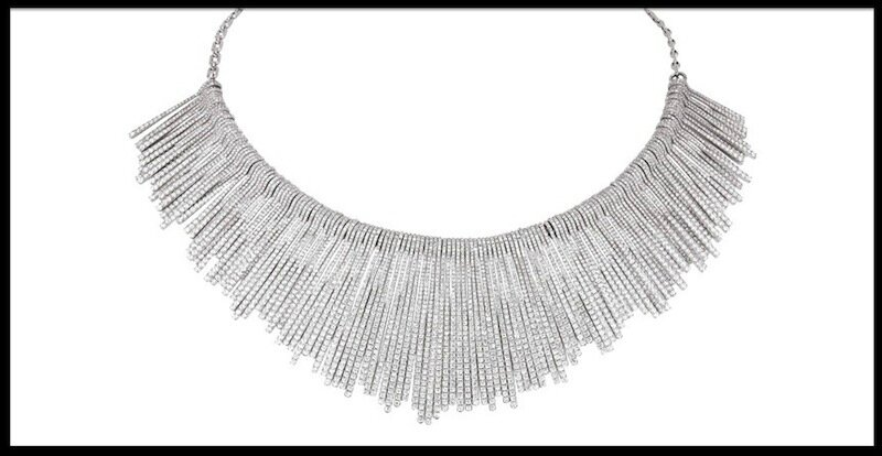 messika gatsby collier franges
