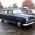 Peugeot 403 break (Retrorencard decembre 2011) 01