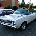 Plymouth road runner convertible - 1969