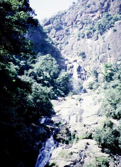Sri Lanka Ravanella Falls