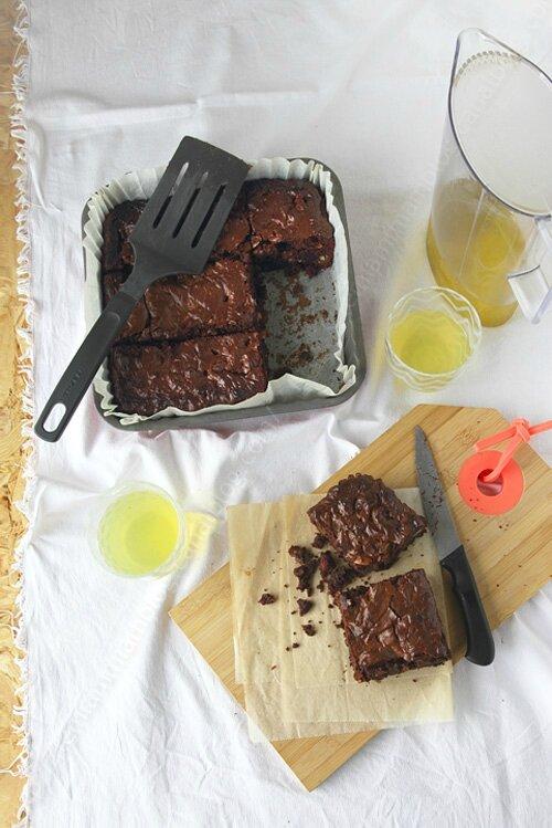 brownies au chocolat de Helene Darroze 000001 LE MIAM MIAM BLOG