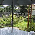 Fin d'été au jardin
