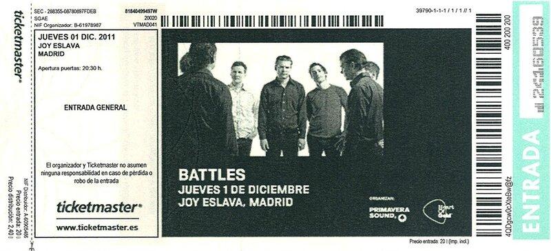 2011 12 Battles Joy Eslava Billet