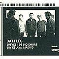 Battles - jeudi 1er décembre 2011 - joy eslava (madrid)
