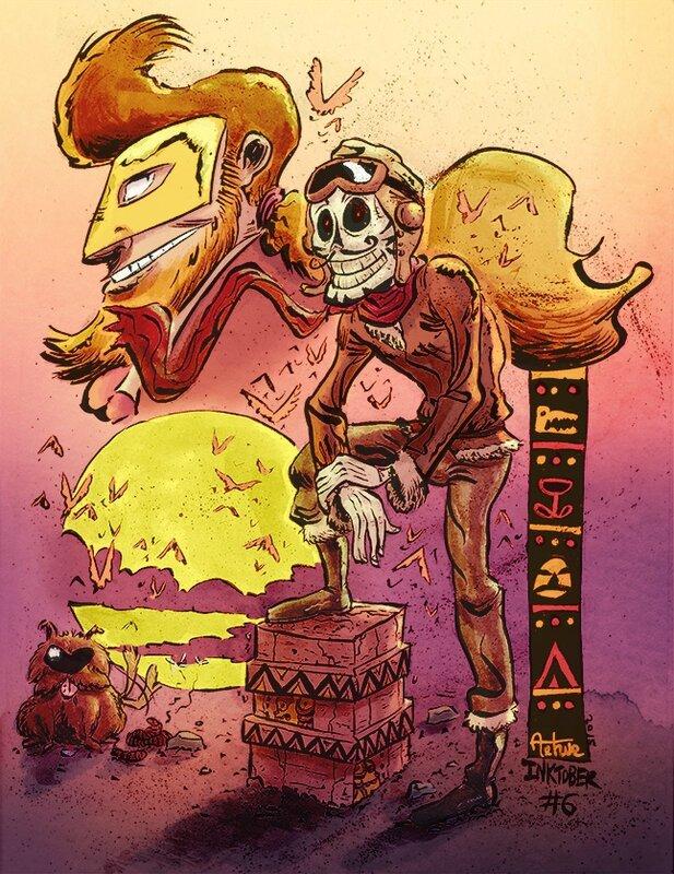 06 squelette aviateur maya2