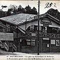 La gare du funiculaire