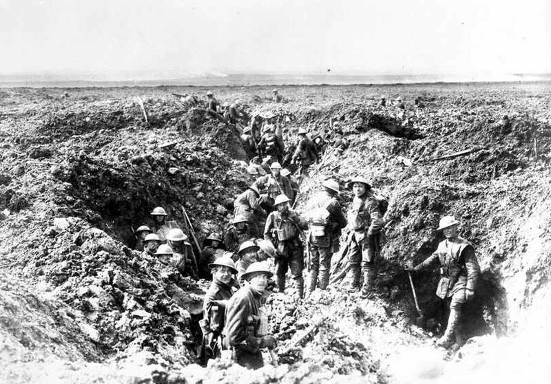 Vimy canadiens consolidant leur position avr 1917