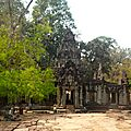 Entrée du Temple Ta Prohm