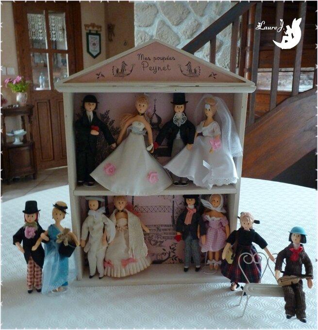 Mes poupées Peynet