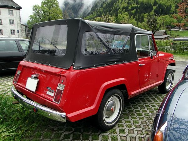 jeep jeepster commando 1969 4