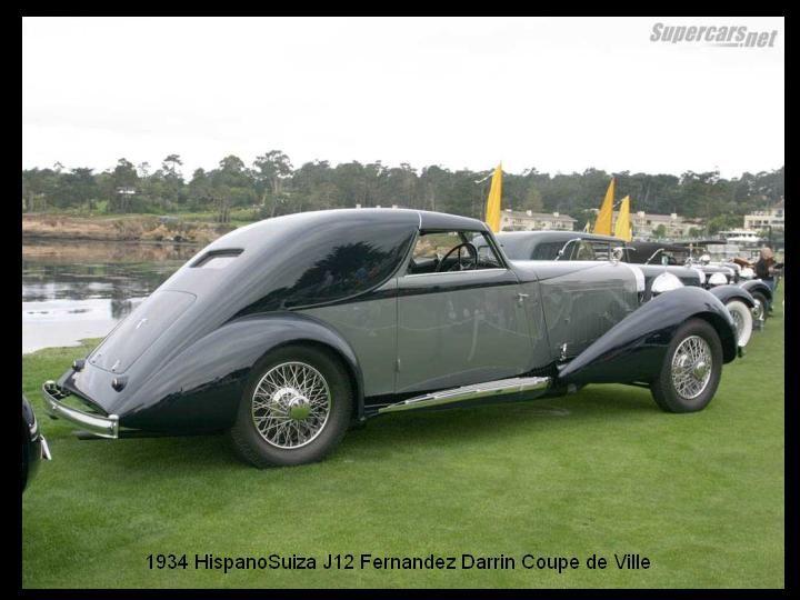 1934 - Hispano Suiza J12 Fernandez Darrin Coupe de Ville - 6
