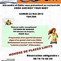 Cook and mov' your body samedi 23 mai 2015