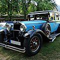 MERCEDES W08 Nürburg 460 limousine 1930 Baden Baden (1)