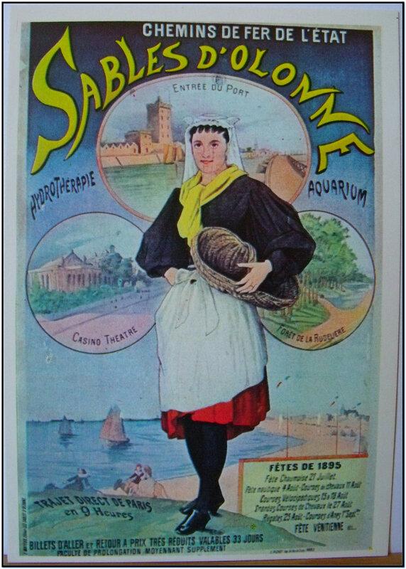 Chemins de fer de l'état Sables d'Olonne - Fêtes de 1895