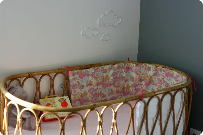 Tour de lit Liberty - Emilie sans chichi...