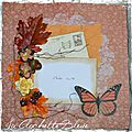 Challenge page pour style shabby