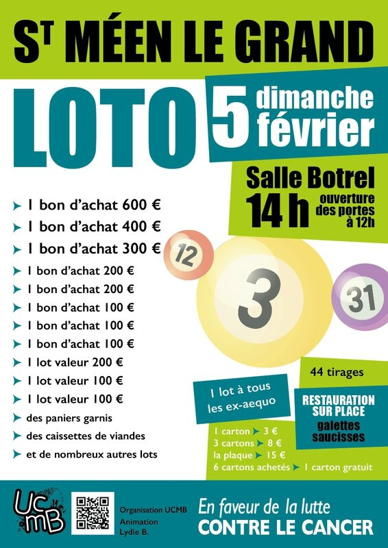 affiche loto BD2