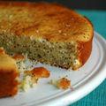 Gâteau au graine de pavot et citron