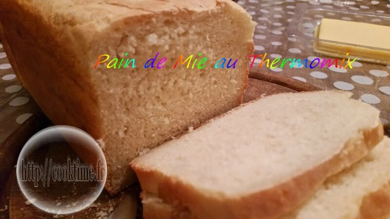Pain de Mie au Thermomix 1