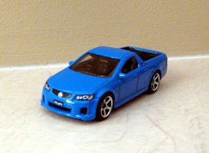Holden UTE SSV pick-up de 2008 de chez Matchbox (2010) 01