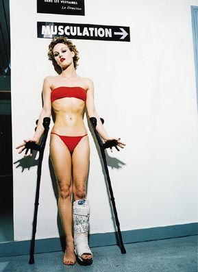 Vanessa Paradis par Ellen Von Unwerth - starsicones ванесса паради