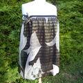 Robe bandeau à poissons