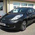 Nissan leaf zero emission 2015