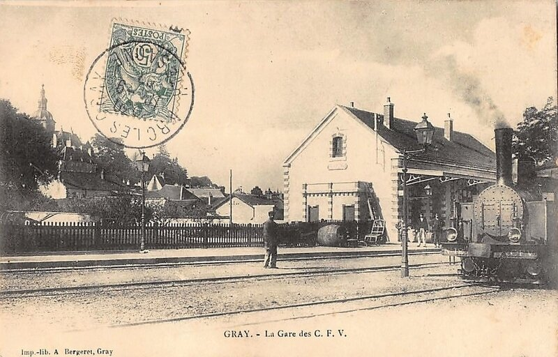 gray -070 la gare