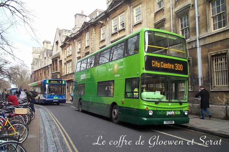 Bus à deux étages de Oxford (UK)