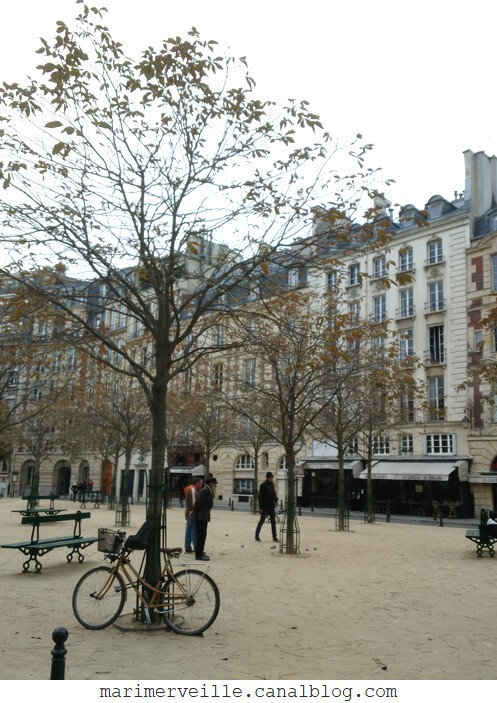 Paris - place Dauphine - Marimerveille