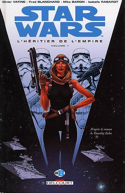 delcourt star wars le cycle de thrawn 1 l'héritier de l'empire