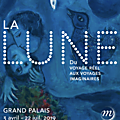 La lune s'expose au grand palais a paris