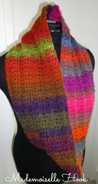 Snood multicolore 3