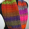 Snood multicolore 3