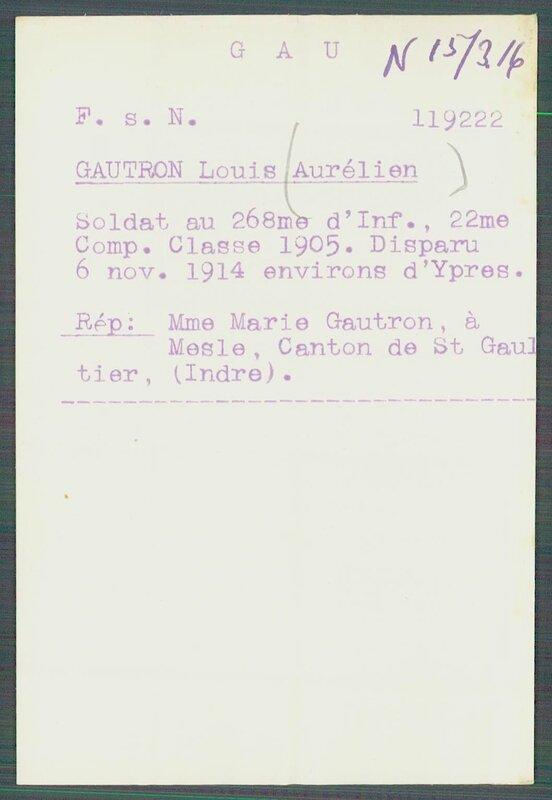 GAUTRON Louis Aurélien 1-2